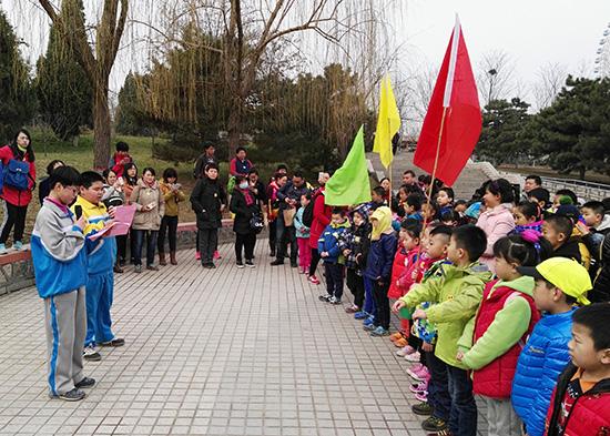 石家庄市动物园:种下绿色希望,传播科学知识